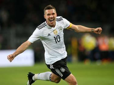 Lukas Podolski war in Dortmund der gefeierte Mann des Abends