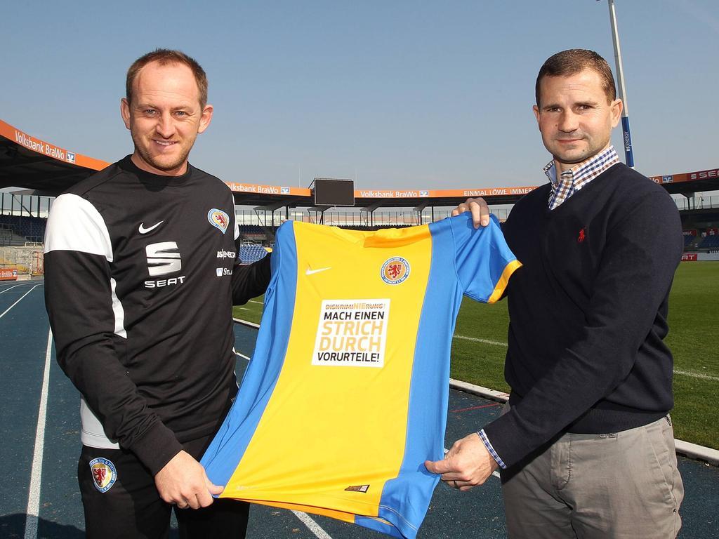 Mit Torsten Lieberknecht als Cheftrainer und Marc Arnold als sportlichem Leiter feierte Braunschweig die Rückkehr in die Bundesliga 2013.
