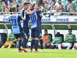 Der VfL kam in Fürth zu einem ungefährdeten 5:0-Sieg