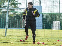 Marcos Álvarez hat sich einen Muskelfaserriss zugezogen