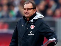 Ewald Lienen arbeitet aktuell für den Zweitligisten FC St. Pauli