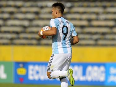 Argentiniens Junioren-Nationalspieler Lautaro Martínez steht beim BVB auf dem Wunschzettel