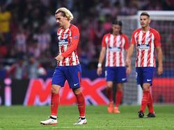 El Atlético ha sido incapaz de sacar algo positivo ante un rival inferior. (Foto: Getty)