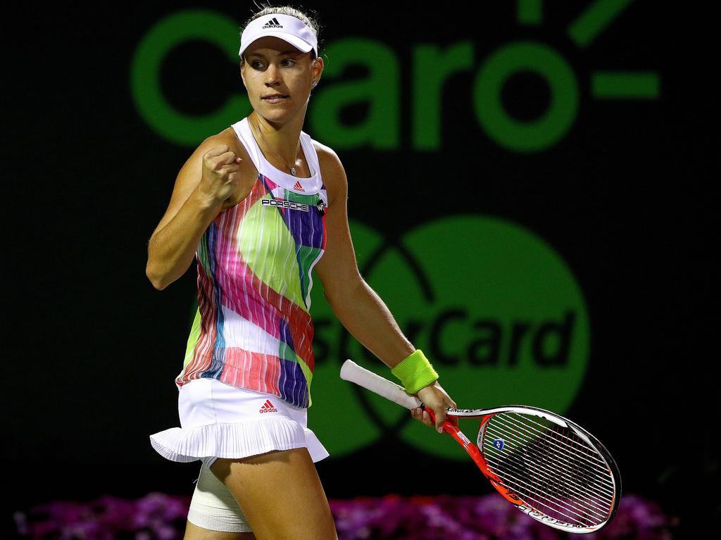Angie Kerber steht wieder auf Platz zwei der Weltrangliste