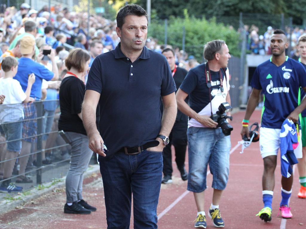 Hat eine Vision von Schalke: Neu-Manager Christian Heidel