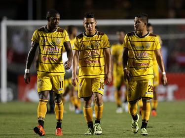 Los jugadores del Trujillanos en la Copa Libertadores. (Foto: Getty)