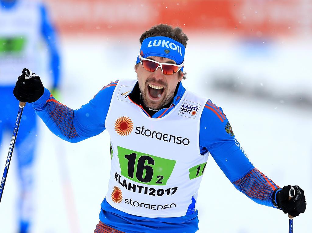 Sergey Ustiugov st der überragende Langläufer des Winters