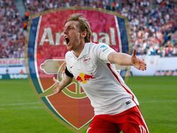 Emil Forsberg spielte sich mit starken Leistungen in den Fokus europäischer Topklubs