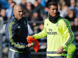 """Für """"Zizou"""" ist Ronaldo der beste Spieler der Welt"""