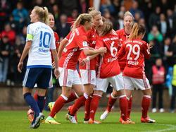 Die FCB-Frauen zogen souverän in den dritte Runde ein