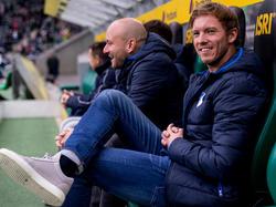 Hat gut lachen: TSG-Trainer Julian Nagelsmann