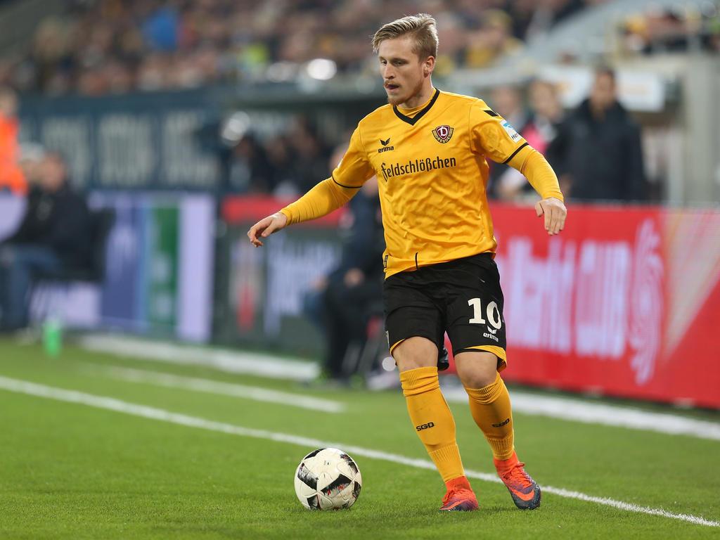 Fußball: Dynamo Dresden verlängert Ausleihe von Schwäbe um ein Jahr