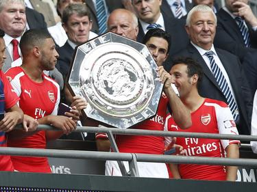 Der FA Community Shield ging 2014 an den FC Arsenal