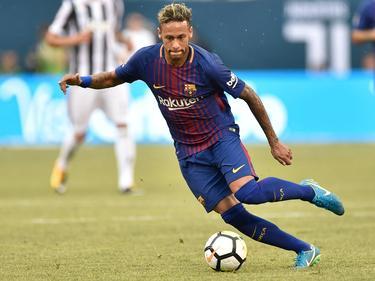 Neymar überzeugte beim FC Barcelona mit zwei Toren