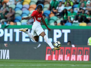 Kylian Mbappé trägt noch das Trikot der AS Monaco