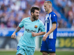 Erzielte zwei Tore gegen Alavés: Messi