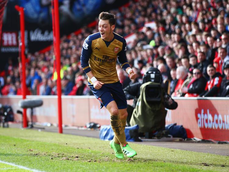 Will auch gegen Leicester erfolgreich sein: Mesut Özil