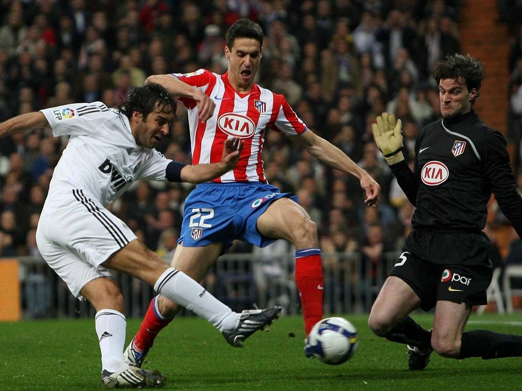 Erzielte sein erstes Pflichtspieltor ausgerechnet gegen Atlético: Real-Legende Raúl