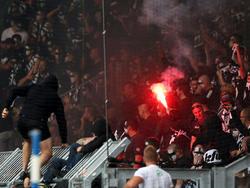 Im DFB-Pokalspiel in Magdeburg ging es heiß her