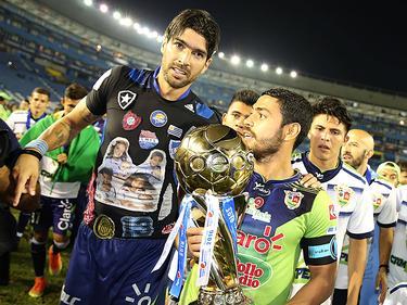 """""""El paso por el fútbol salvadoreño fue todo un aprendizaje"""", celebró Abreu. (Foto: Imago)"""