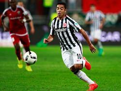 Marco Fabián hat hohe Ziele mit der Eintracht aus Frankfurt