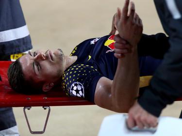 Marcel Sabitzer zog sich eine schwierige Schulterverletzung zu