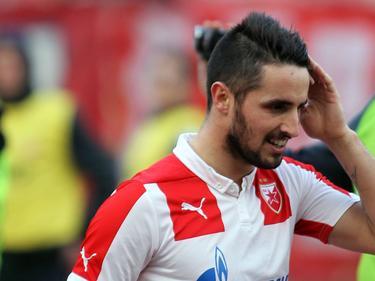 Goalgetter Hugo Vieira erzielte das 2:1-Siegtor für Roter Stern
