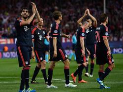 Die Bayern machen sich vor dem Rückspiel gegen Atlético Mut