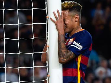 Neymar ärgerte sich tierisch über die Pleite