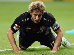 Stefan Kießling musste verletzt das Feld verlassen