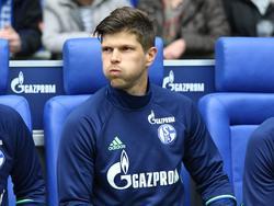 Klaas-Jan Huntelaar ist mit seiner Rolle beim FC Schalke 04 unzufrieden