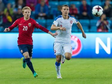 Kein Sieger im Duell zwischen Norwegen (in rot) und Tschechien