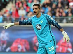 Der VfL Wolfsburg bindet Keeper Koen Casteels bis 2021