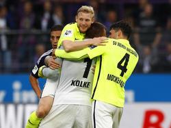 Der SV Wehen Wiesbaden feierte einen 2:1-Arbeitssieg gegen den CFC