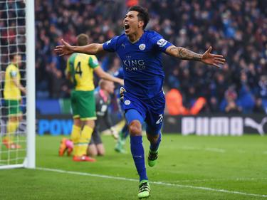 Leonardo Ulloa traf für Leicester
