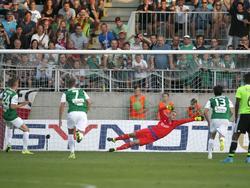 Ajax-Keeper Jasper Cillessen musste sogar einen Elfmeter abwehren