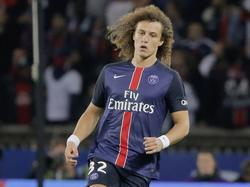David Luiz no se tomó muy bien la decisión de Blanc en el último partido. (Foto: Getty)