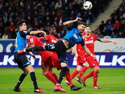 Hoffenheim ist zur Zeit im Höhenflug und hat noch kein Spiel verloren