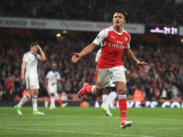Alexis Sánchez es el delantero referencia del conjunto londinense. (Foto: Getty)