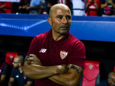 Sampaoli en su época como técnico del Sevilla. (Foto: Getty)