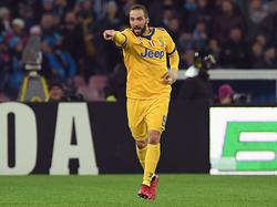 Mann des Spiels: Gonzalo Higuain traf gegen seinen Ex-Klub zum Sieg