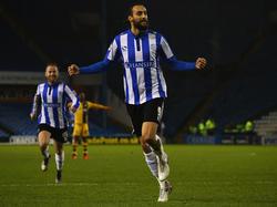 Zuletzt war Atdhe Nuhiu im FA Cup für die Owls erfolgreich