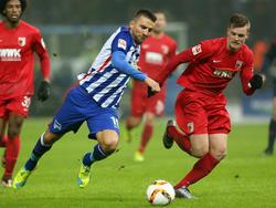 Geht auch nächste Saison auf Torejagd in Berlin: Vedad Ibišević