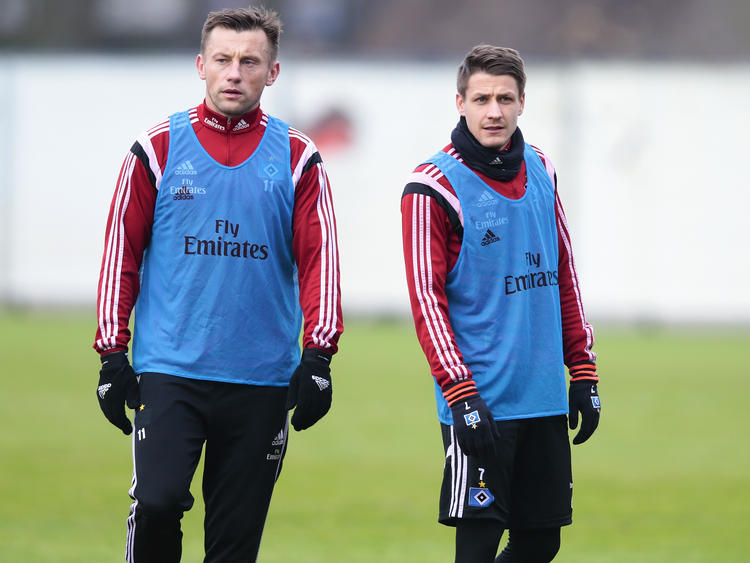 Ivo Iličević (r.) gehört gegen den 1. FC Köln nicht zum Kader