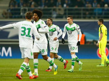 Wolfsburg ist nach dem Hinspiel auf Viertelfinalkurs