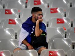 Viele Frankreich-Fans waren enttäuscht, zumindest einer davon wurde getröstet