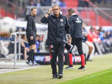 Ewald Lienen ist Trainer des FC St. Pauli