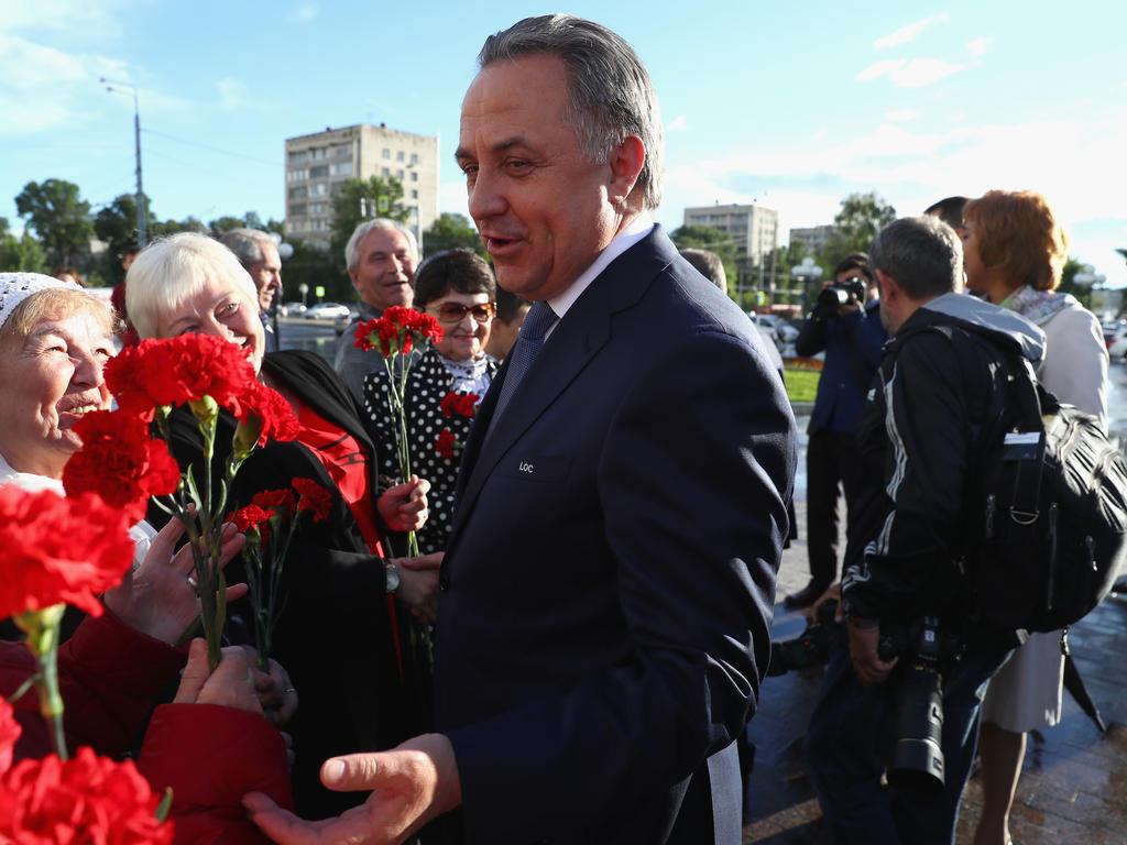 Witali Mutko ist trotz des Ausscheidens von Gastgeber Russland zufrieden