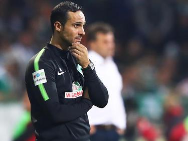 Bremens Trainer Alexander Nouri braucht langsam ein Erfolgserlebnis