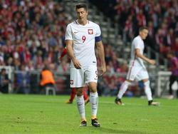 Robert Lewandowski und die polnische Nationalmannschaft tricksten sich in Lostopf eins